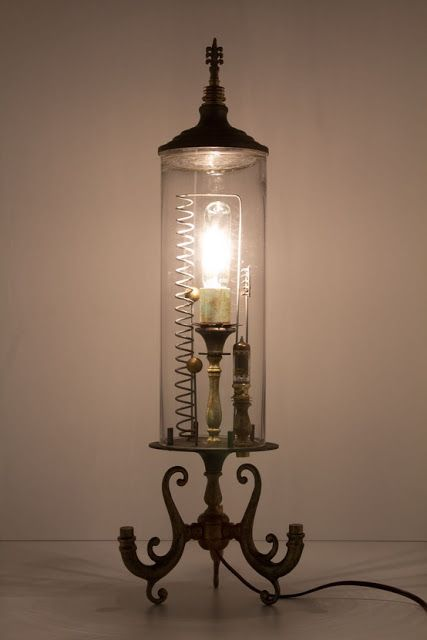 Anthropologie Steampunk Lamp More