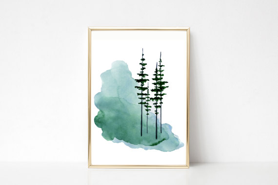 This Item Is Unavailable Etsy Tree Watercolor Painting Watercolor Trees Scandinavian Art
