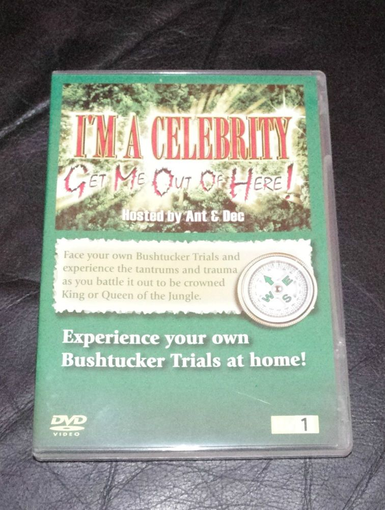 I'M A CELEBRITY GET ME OUT OF HERE INTERACTIVE DVD GAME WITH