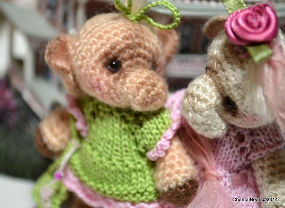 4 Thread Crochet Elephant pattern and clothes patterns #crochetelephantpattern