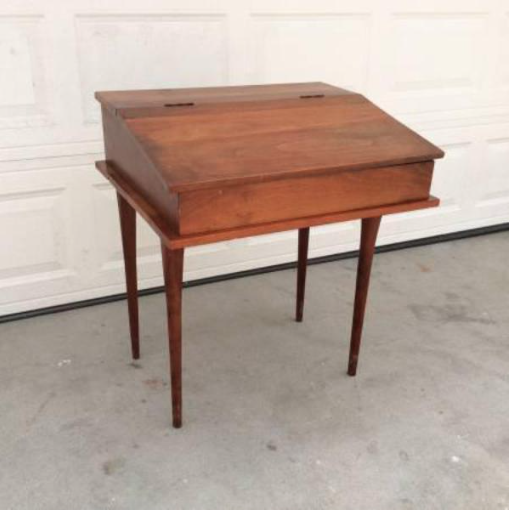 Old fashioned writing desk 84