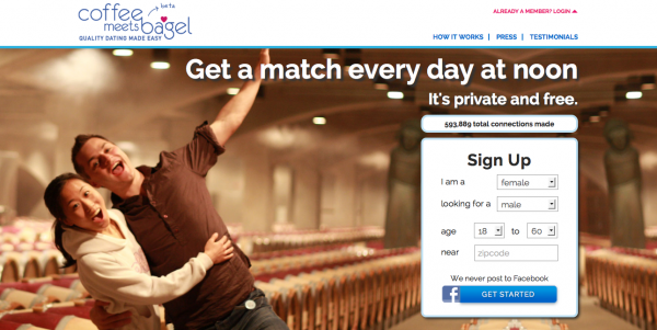 Bagels and coffee dating website
