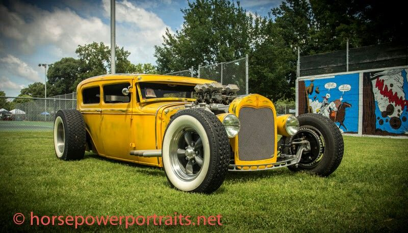 Yellow Rat rod, Classic cars, Antique cars