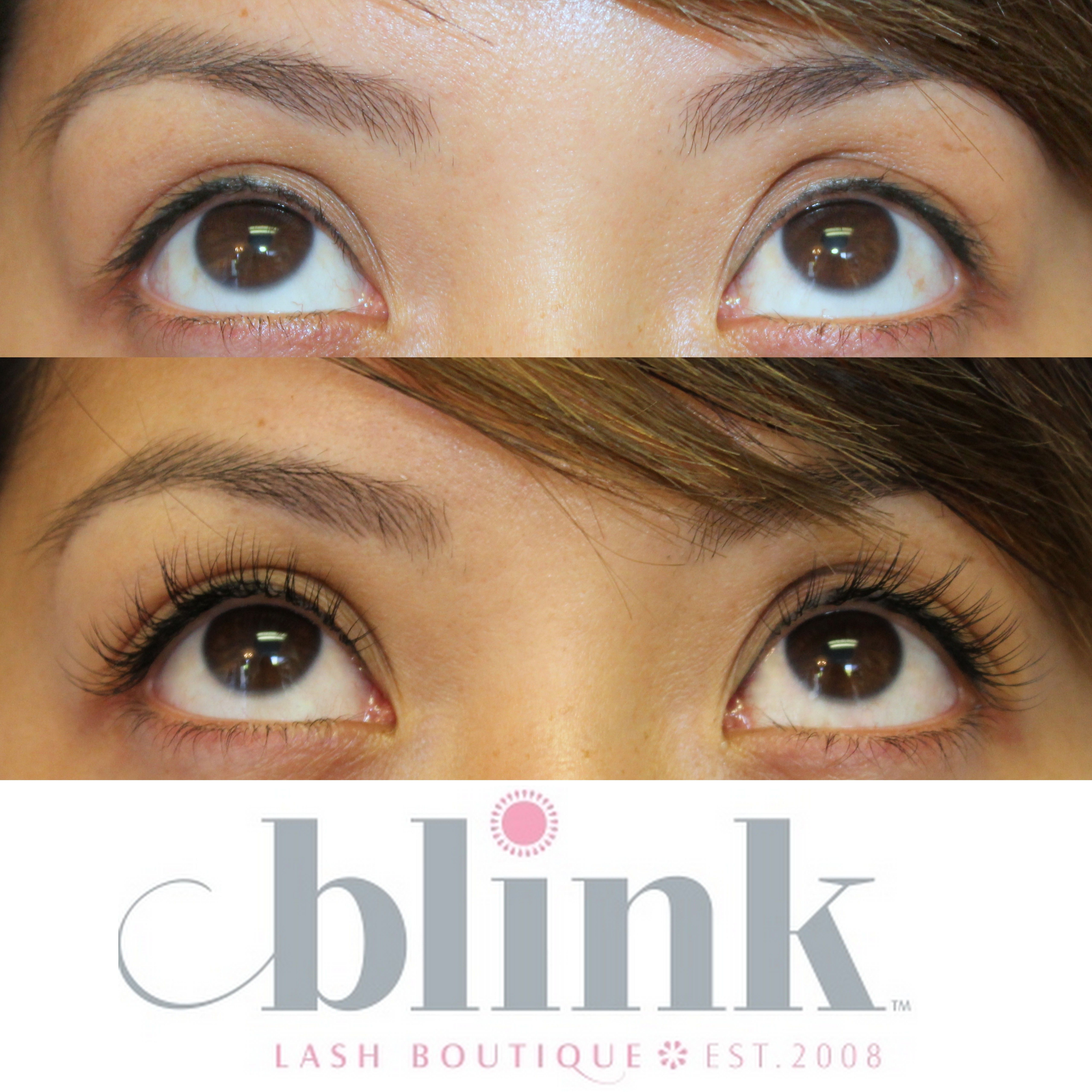 72caf325dfd Beautiful lash extensions from Blink Lash Boutique that enhance natural  beauty!