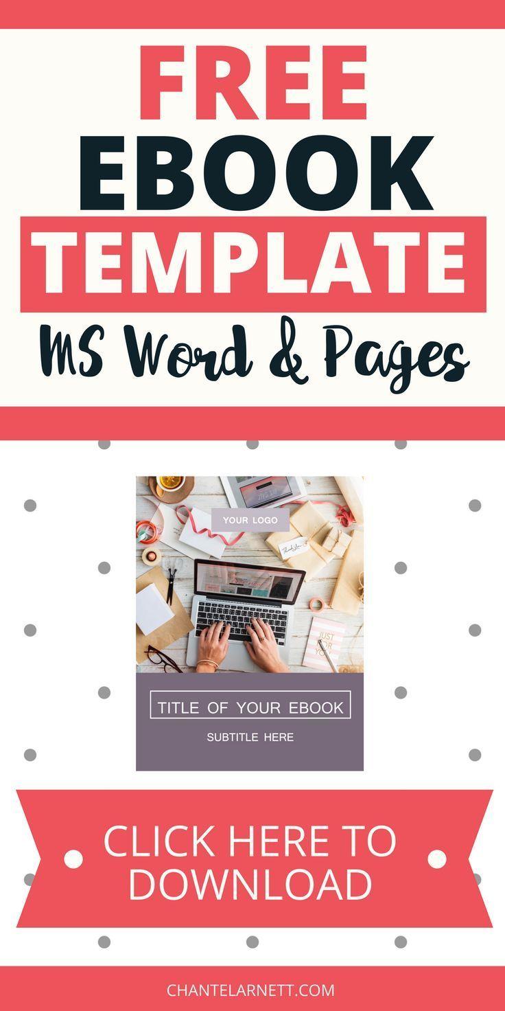 three free customizable templates create an ebook pinterest