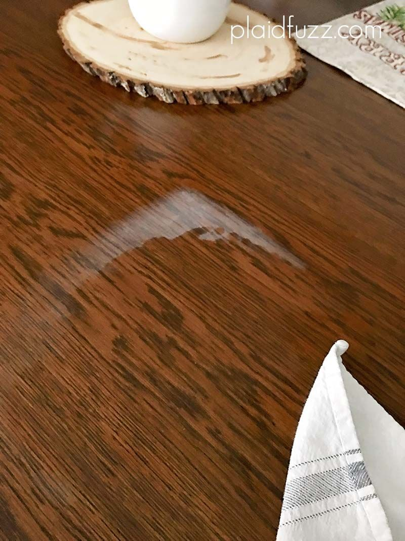 Getting Heat Marks Out Of Wood Restore Wood Furniture Staining