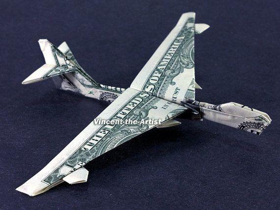 Geldgeschenk Flugzeug