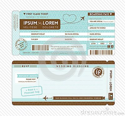 Boarding Pass Wedding Invitation Template Idk Pinterest Ticket - Wedding invitation templates: boarding pass wedding invitation template