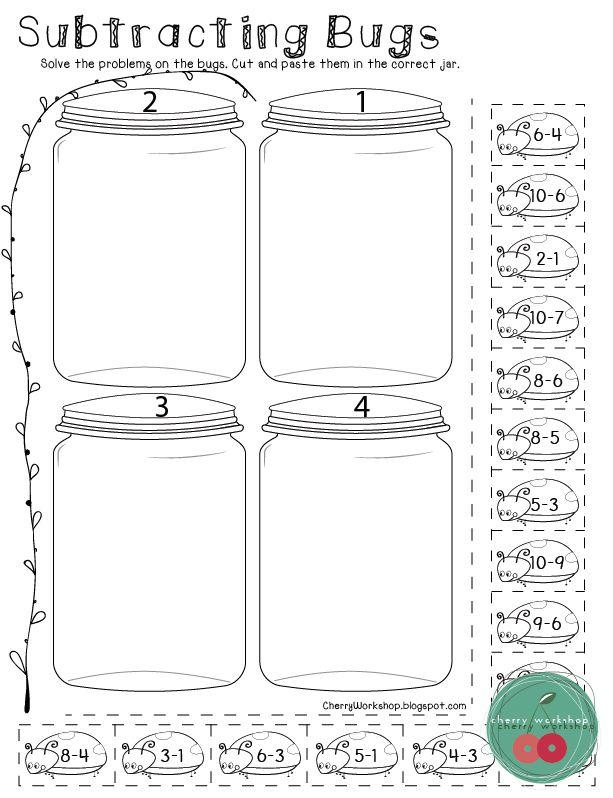spring activities for kindergarten kinder math kindergarten math subtraction activities. Black Bedroom Furniture Sets. Home Design Ideas