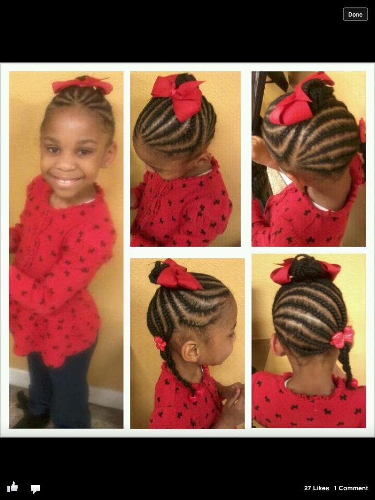Cute braided style for little girls kids hair styles pinterest