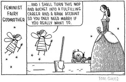 Q A With Tom Gauld Godmother Feminist Fairy Godmother