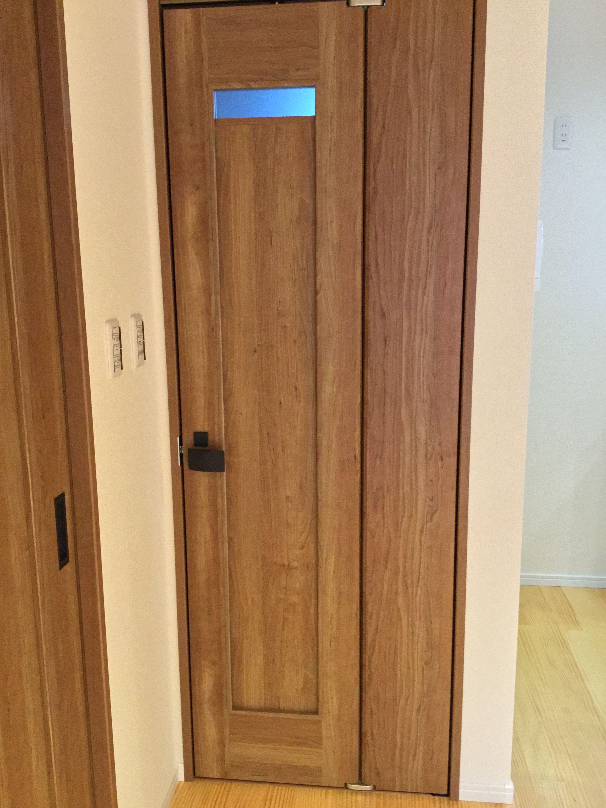 狭いスペースに最適な折れ戸 開き戸の1 3の開閉スペースで取り付ける