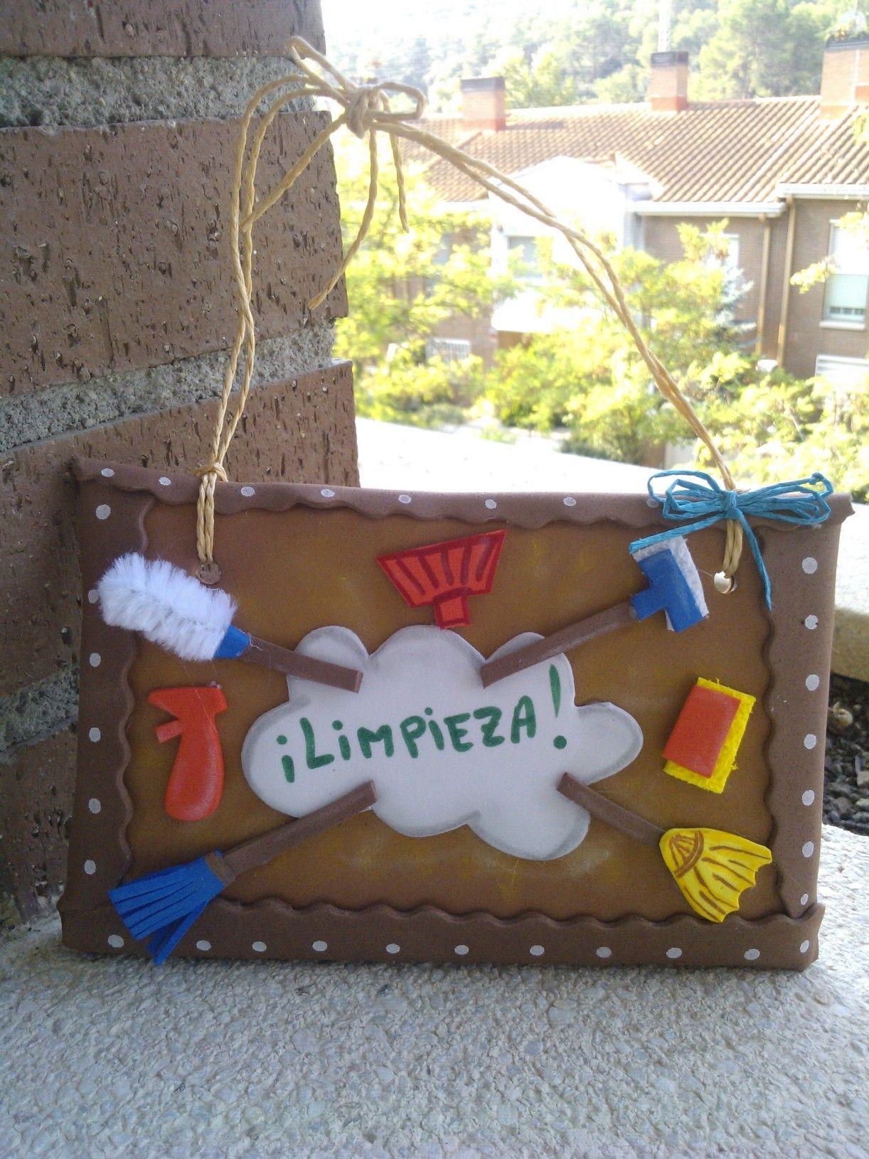 Cartel Para Limpieza De Escalera En Goma Eva Carteles