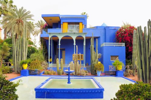 This Art Deco House Belonged To Moroccan Artist Jacques Majorette