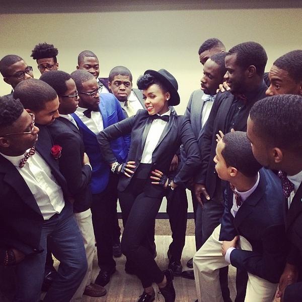 Janelle Monae, @janellemonae | 23 Instagram Accounts That Are Doing Tomboy Style…