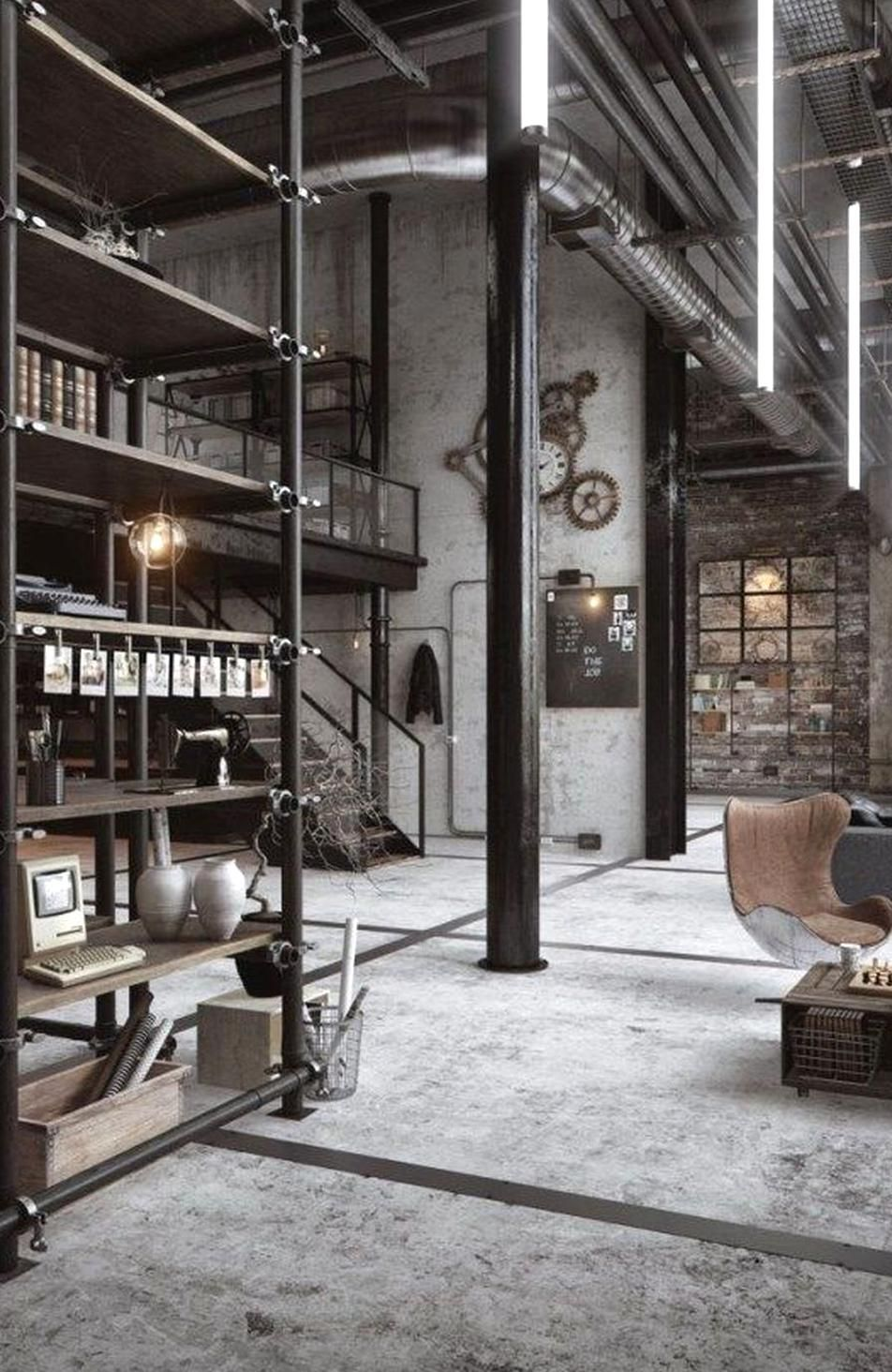 Get The Best Industrial Home Decor Ideas Visit Us For Industrial Style Interior Design Industrial Chic Dec In 2020 Loft Decor Industrial Chic Decor Industrial Loft