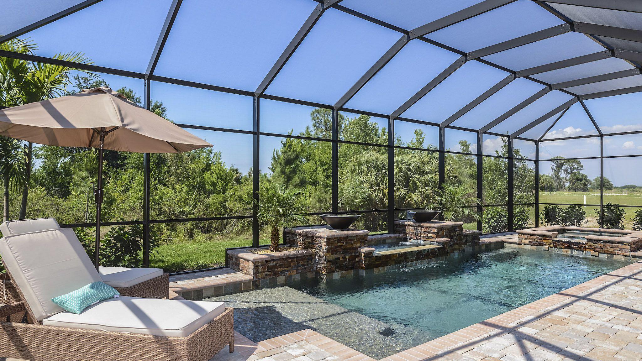 Florida Backyard Designs Backyard Design Tampa Homes