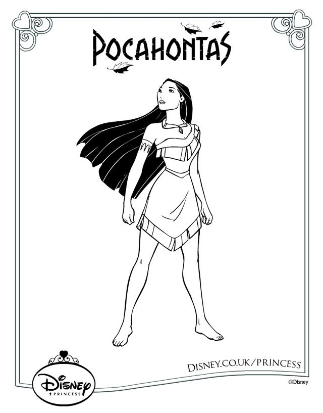 disney art disney pixar colouring pages adult coloring pocahontas disney princess art projects princesses coloring pages - Disney Pictures To Colour And Print