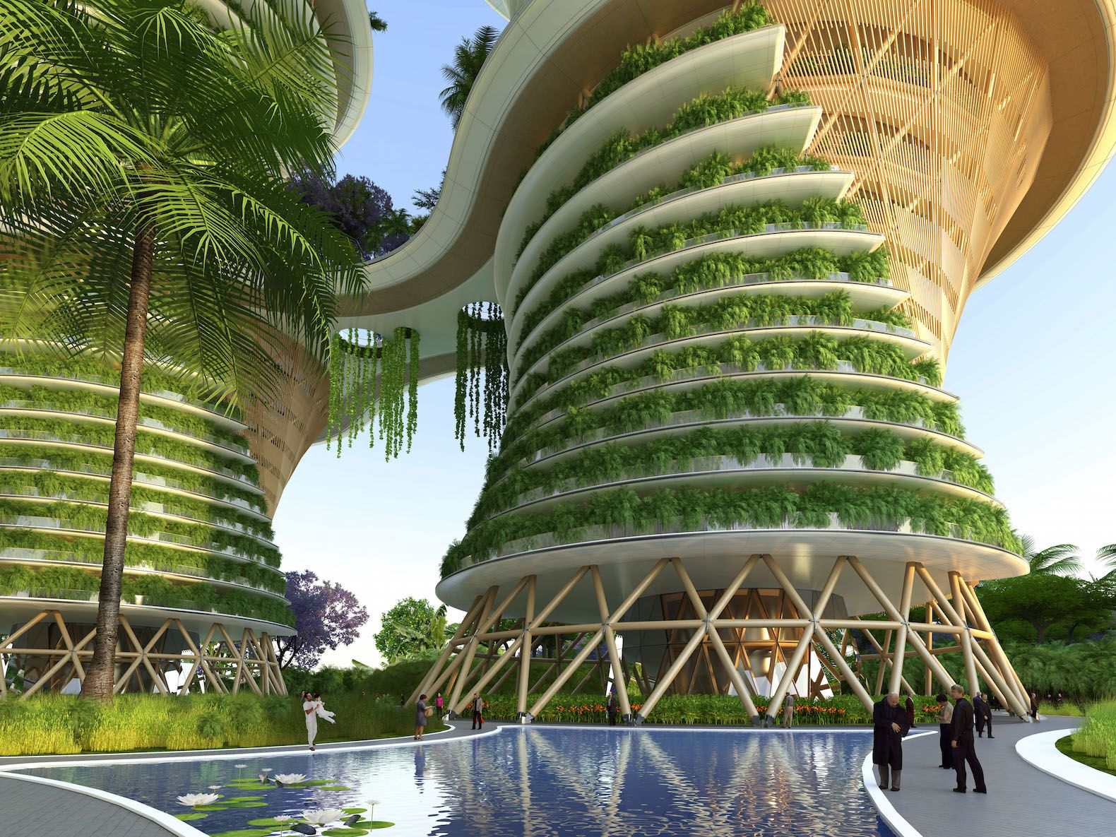 Urban farming utopia in India produces more energy than it uses ...