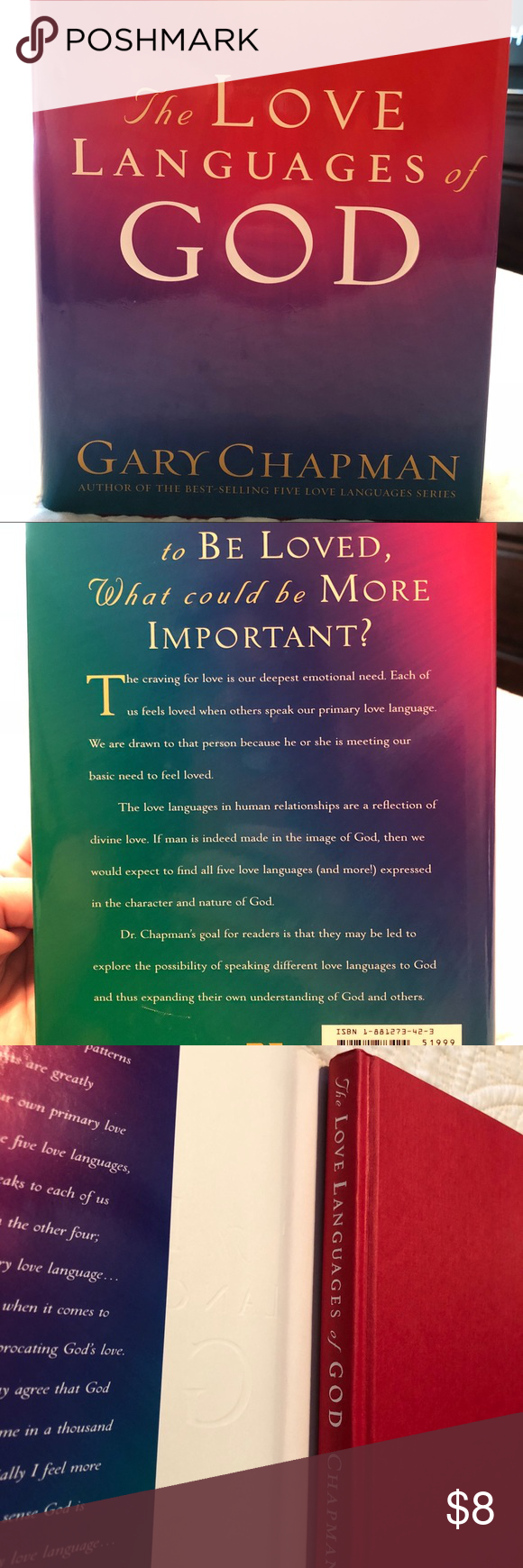 The Love Languages Of Book By Gary Chapman No Torn Or Creased Pages Great Condition Wonderful Read Gary Chapman Other
