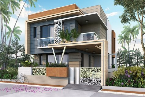 Stnning stylish house plan at just lakhs  also best houses plans images on pinterest in rh