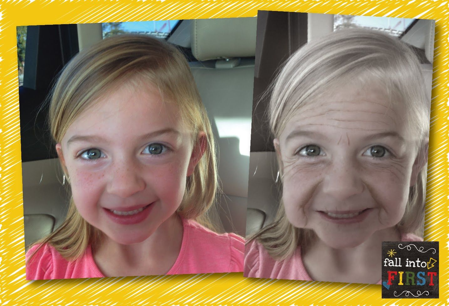 100th Day of School App Aging Booth 100 days of school