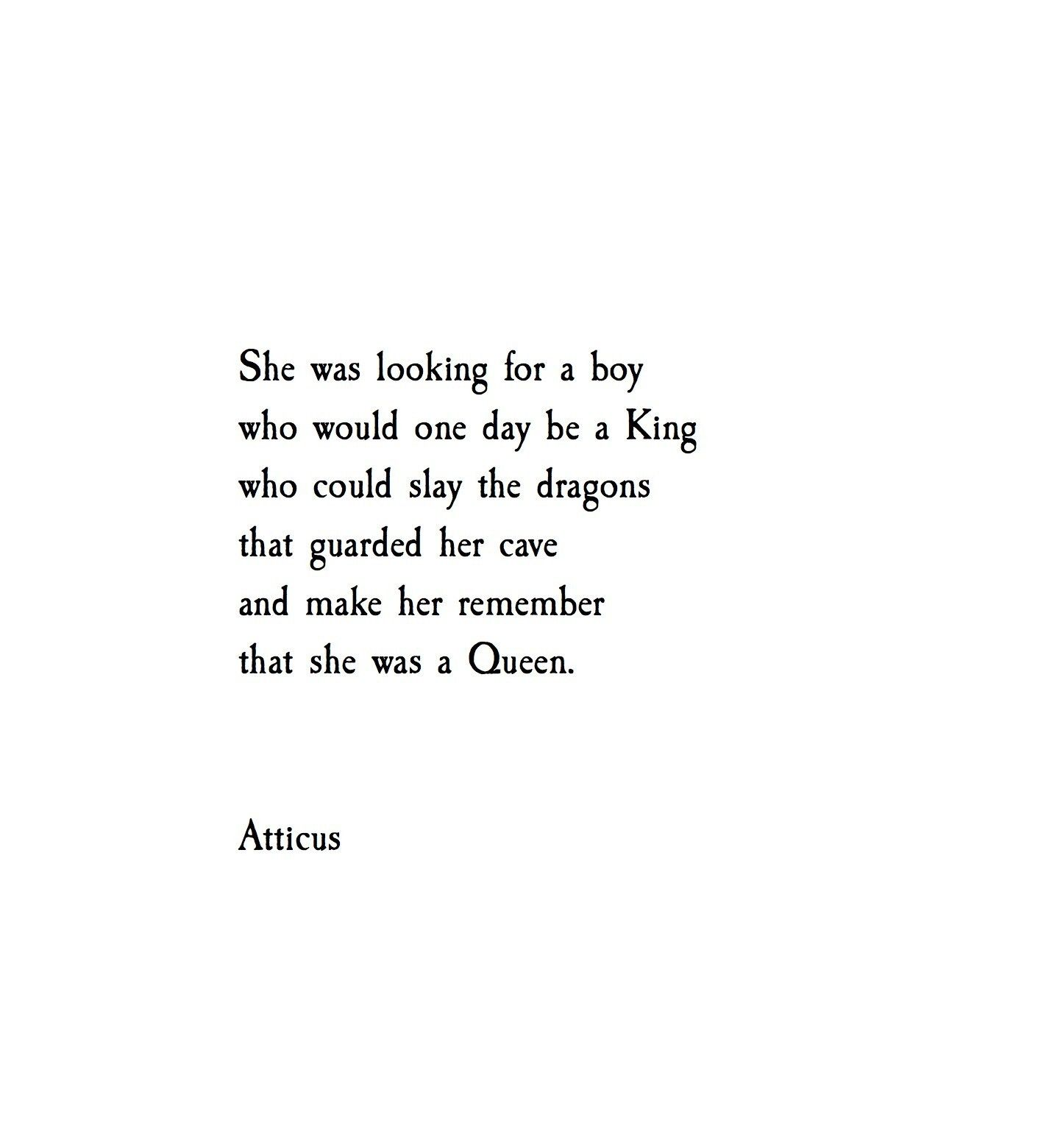 'Caves and Queens'   @atticuspoetry #atticuspoetry