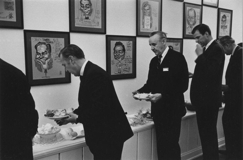 EN-111 Executive lunchroom, Detroit, 1968 (Custom)