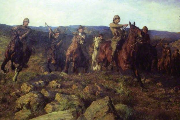 Lucy Kemp-Welch - In Sight, Lord Dundonald's Dash on 'Ladysmith' - 1901