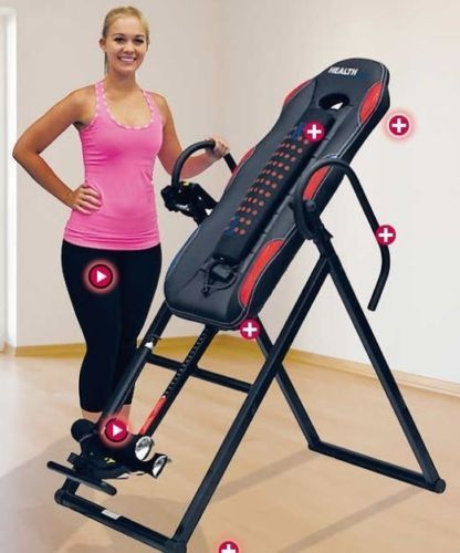 Fitness Equipment for Home Inversion Tables Back Pain Relief Device Heat Massage http://whymattress.com/how-to-choose-the-best-mattress-for-back-pain/