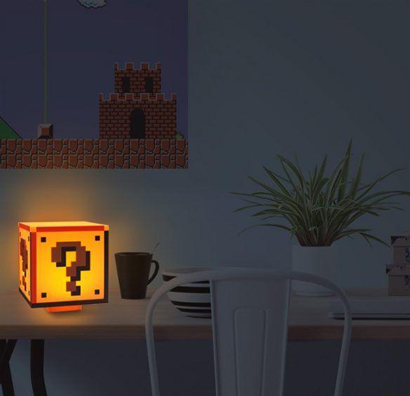 Super Mario Bros Question Block Lamp Mario Bros Super Mario