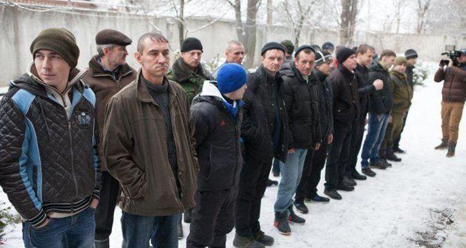 Das Verteidigungsministerium der Ukraine informierte über die Rekrutierung von Donbass-Bewohnern durch die Besatzungstruppen .