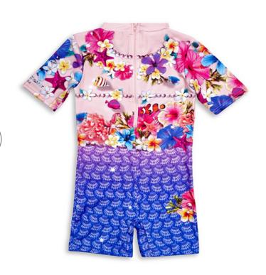 c639a1377b Mermaid Rash Suit all-in-one by Bluesalt Beachwear