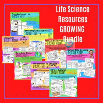 Photo of Life Science Resources GROWING Bundle