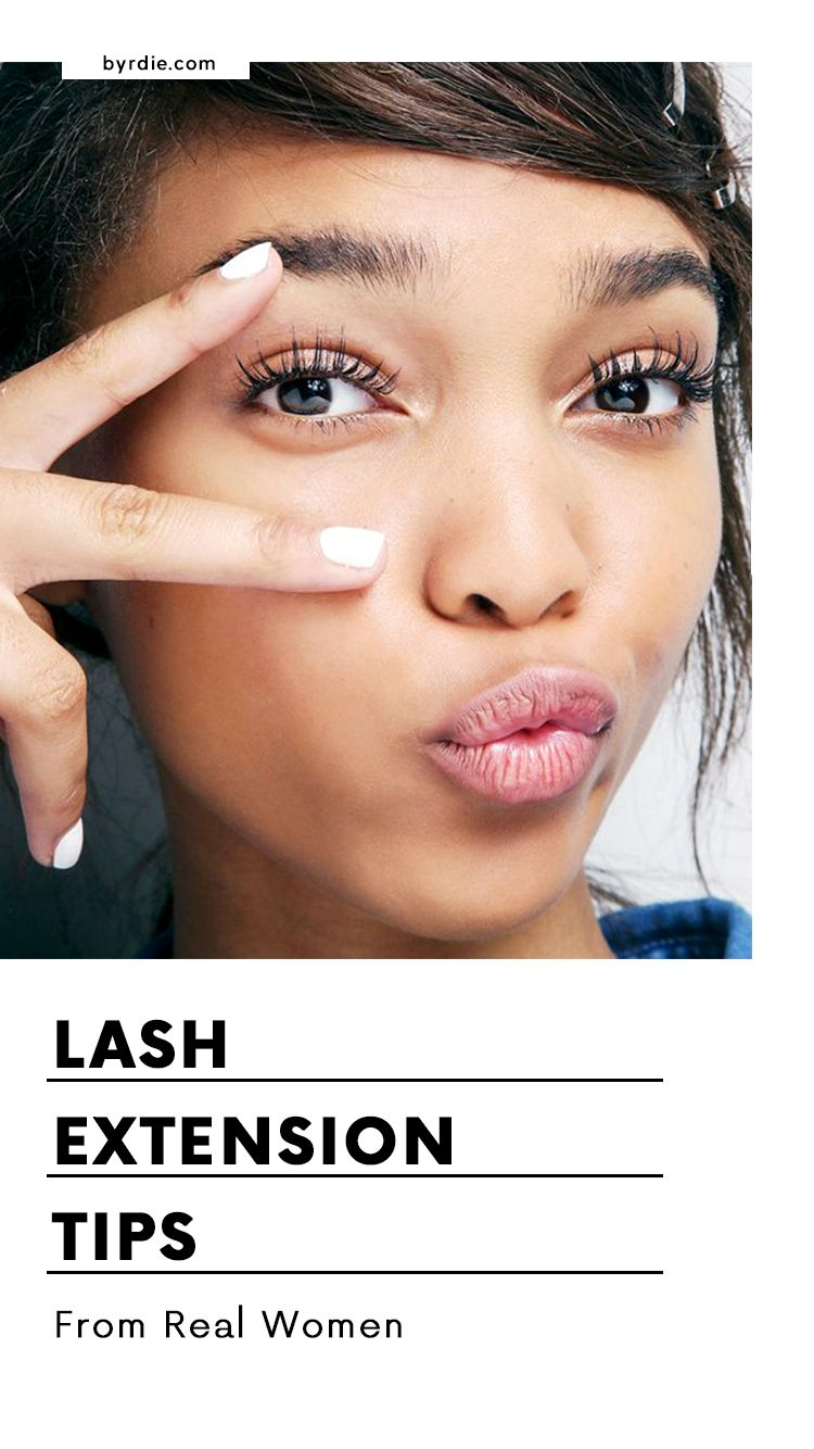 What Its Like Wearing Eyelash Extensions For Over 6 Years Tips