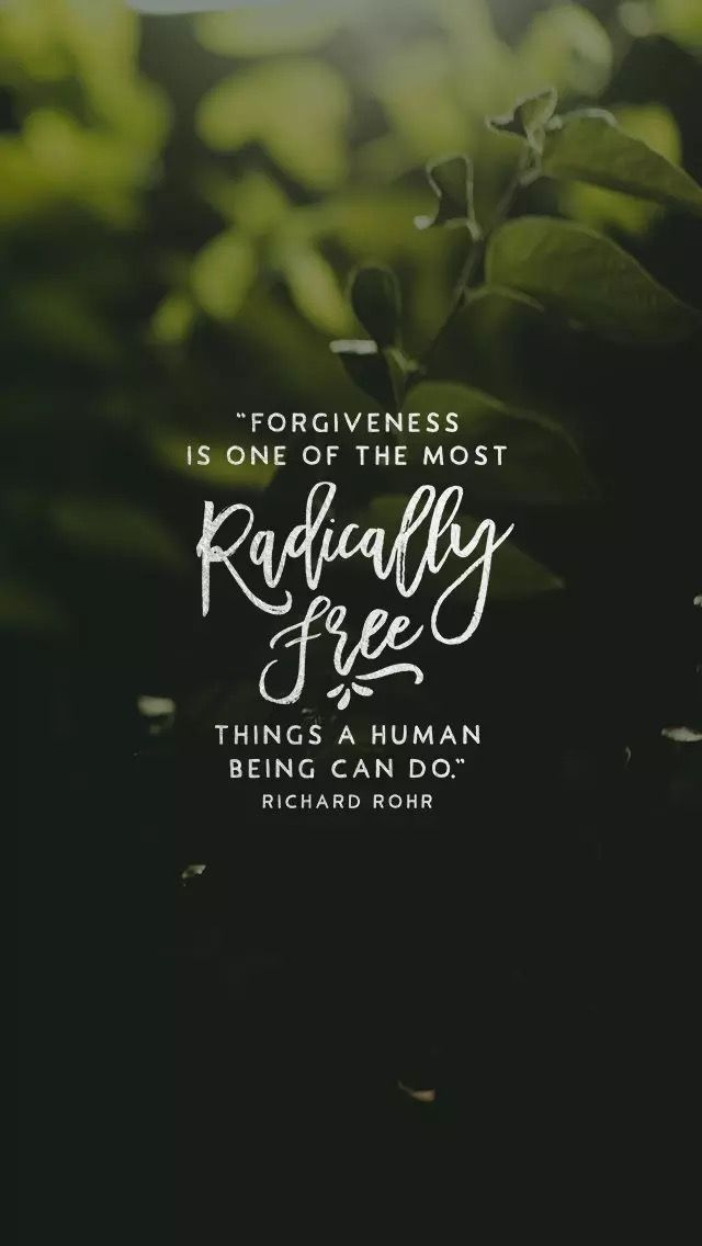 Forgiveness is radically freeing | Bible Verses / The Word