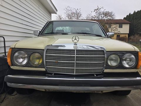 1983 Mercedes Benz 300CD Turbo Diesel Coupe (PA) - $8,000
