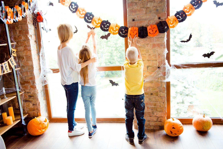 Halloween dekoracje do zrobienia samodzielnie Halloween