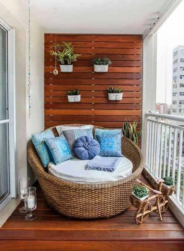 Rattanmöbel für den Balkon | balkón - inspirace | Pinterest ...