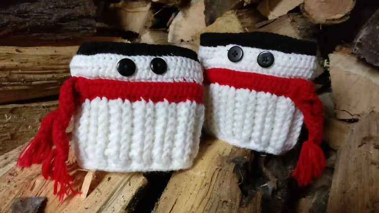 Snowman Boot Cuffs   Mad Hooker Crochet! #bootcuffs