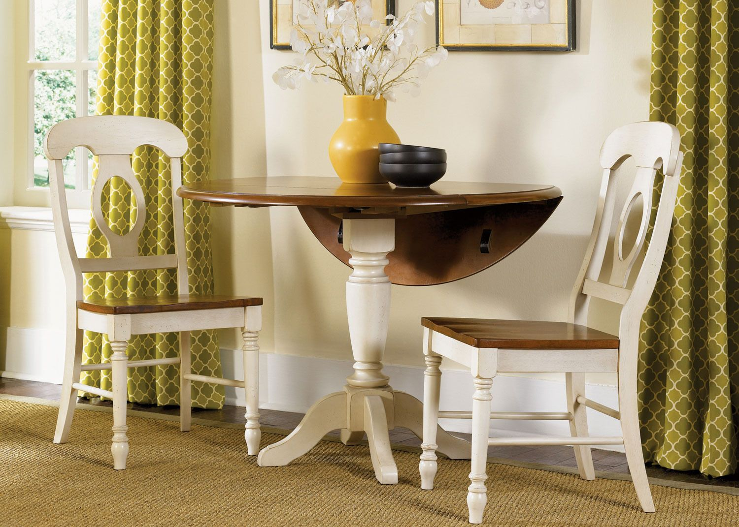Merveilleux Low Country Round Drop Leaf Pedestal Dining Set | Liberty Furniture | Home  Gallery Stores