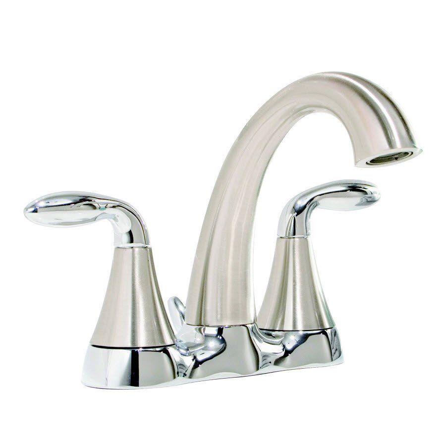 Shop AquaSource F51B0008BNC Brushed Nickel Centerset Watersense ...