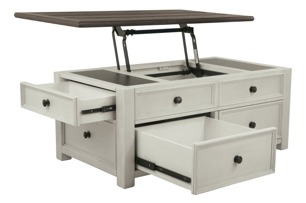 Bolanburg Coffee Table with Lift Top Ashley Furniture