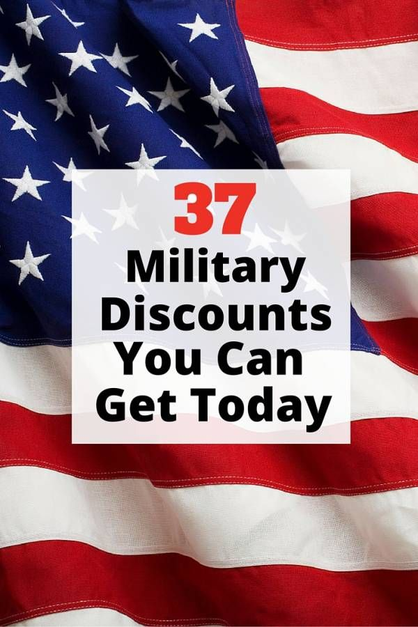 37 Military Discounts You Can Get Today Military Discounts