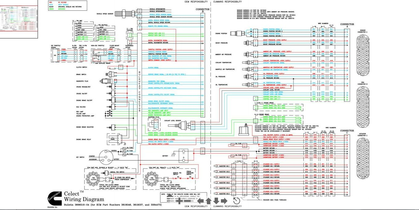 Cummins N14 Celect Plus Wiring Diagram To With And Diagrama De Circuito Electrico Diagrama De Circuito Diagrama De Instalacion Electrica