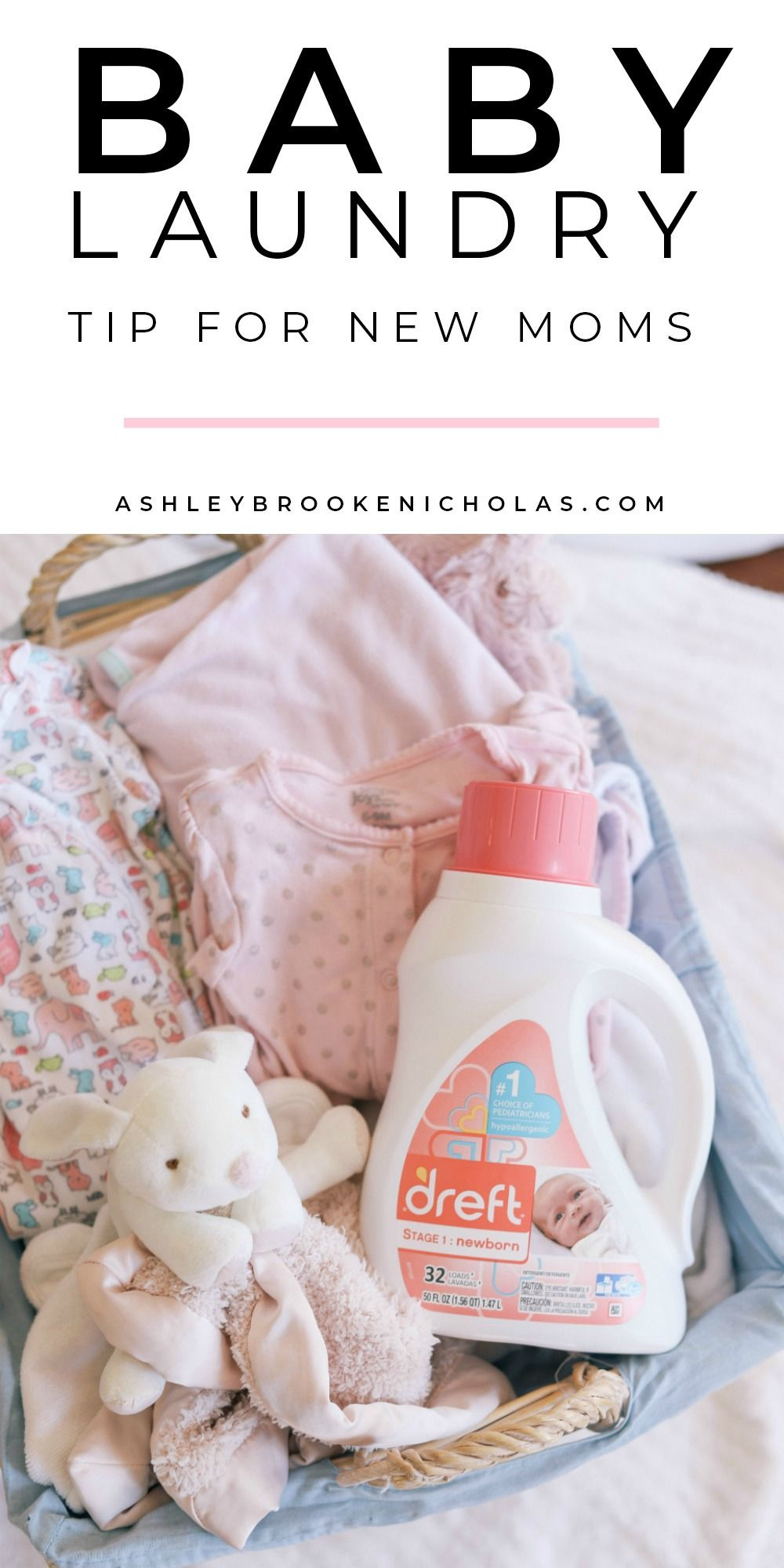 New Mom Tip How To Pre Wash Baby Clothes Ashley Brooke Babies