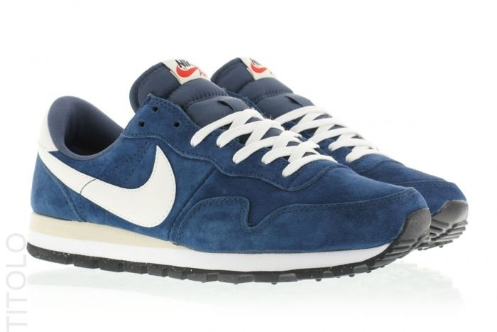 60e018e2b6d5 705021-401 Squadron Blue Sail-Black-Beach Nike Air Pegasus 83 PGS Leather  Titolo