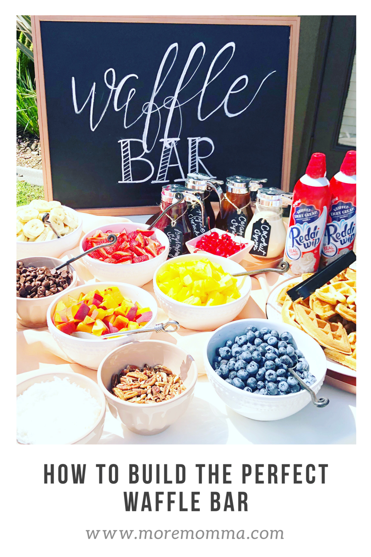 Building the Perfect Waffle Bar! // More Momma -- # ...