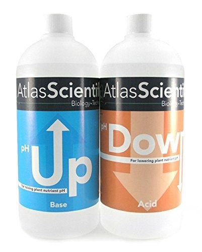 1 Set Unrivaled Popular AS Hydroponic pH Control Adjustment Accurate Atlas Test Kit General Water Up and Down Volume 32 oz Each -- Click image to review more details.