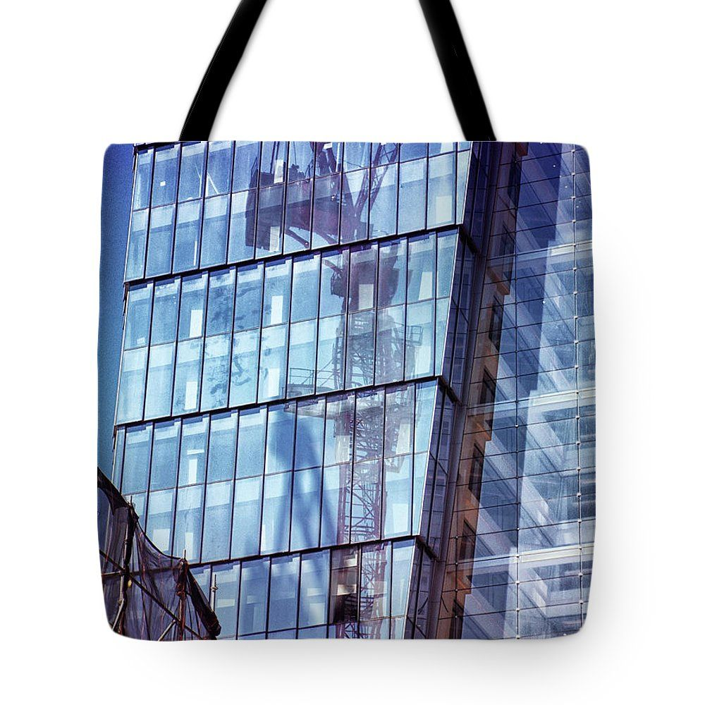 Art Bag Nyc Tote Bag Featuring The Photograph New York City Skyscraper Art By